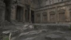 Roman temple - stock footage