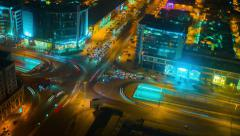 Riyadh Street Time-lapse Stock Footage