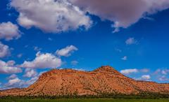 Glen canyon mountains and geological formations Stock Photos