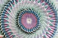 Flower banknote - stock photo