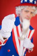 USA: Uncle Sam Pointing To Camera Stock Photos
