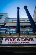 The Five and Dime General Store in Monterey, California. - stock photo
