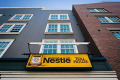 The Nestle Toll House Cafe in Monterey, California. Stock Photos