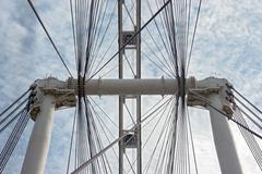 Singapore Flyer -  Ferris Wheel Stock Photos