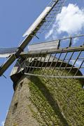 Windmill Seelenfeld (Petershagen, Germany) - stock photo