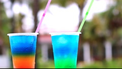 Cocktail Drinks In Cuba Stock Footage