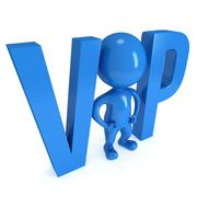 Very important person 3D Stock Illustration