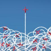 Management Leadership - stock illustration