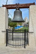 Replica of the American Liberty Bell - stock photo