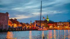 Annapolis Waterfront Stock Footage