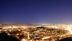 4K San Francisco Timelapse Cityscape 34 Twin Peaks Stock Footage