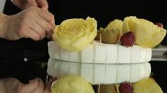 Decorative Food Stock Footage