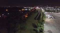 Houston at Night 4k (Tilt Up) Arkistovideo