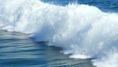 Super Slow Motion Waves 05 Ocean 96fps Stock Footage