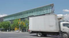 University Of Toronto Sign Harbord Spadina Intersection Medium Stock Footage