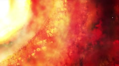 Space galaxy abstract background Stock Footage