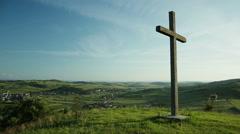 Transylvanian landscape 2 Stock Footage