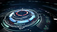 Science fiction futuristic animation 4k (4096x2304) Stock Footage