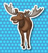 Moose Stock Illustration