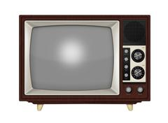 Retro Television - stock illustration
