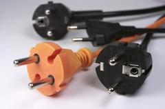 Plugs - stock photo