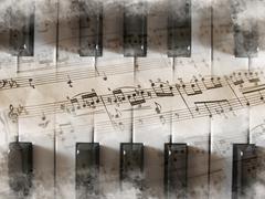 Art, music, piano Kuvituskuvat