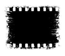 Film strip, negative - stock photo