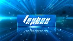 Stock After Effects of Techno Space Promo