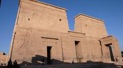 Temple of Isis. Egypt - stock photo