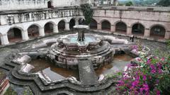 Convent of Nuestra Señora de la Merced in Antigua Guatemala Stock Photos