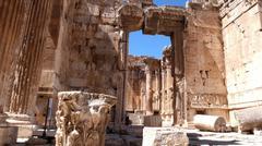 Baalbek ruins, Lebanon Stock Photos