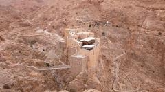Syria. Monastery of Mar Musa.  - stock photo