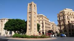 Place de l'Etoile. Beirut. Lebanon - stock photo