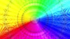Rainbow background, Seamless Loop - stock footage
