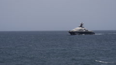Mega yacht luxury ship - MY Equanimity 3 of 3 Stock Footage