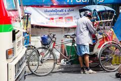 Stock Photo of Rickshaw