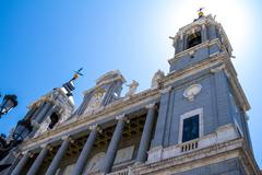 Cathedral of Saint Mary the Royal of La Almudena - stock photo
