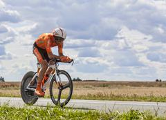 The Cyclist Egoi Martinez - Tour de France 2012 Stock Photos