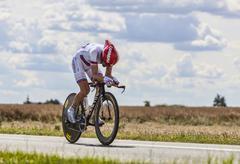 The Cyclist Denis Menchov - Tour de France 2012 - stock photo
