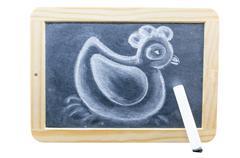 Chalk Drawing Stock Photos