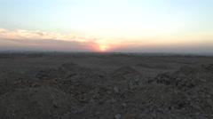 Beautiful Cairo, Egypt Sunset Stock Footage