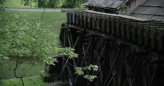 Mabry Mill Back View Stock Footage