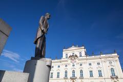 Monument of Tomas Garrique Masaryk - stock photo