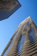 The Aqua Tower in Chicago. Stock Photos