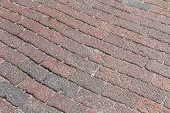 Brick Road - stock photo