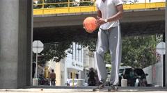 Basketball Novice, Mistake Stock Footage
