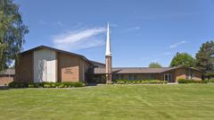 Church of latter day Saints Oregon. Stock Photos