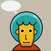 Stock Illustration of Man thinking
