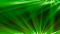 Abstract Green Light Streaks - Background for Logos and Presentations - stock footage