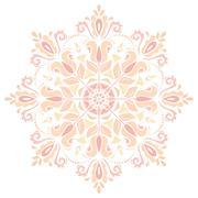 Orient Abstract  Pattern Stock Illustration